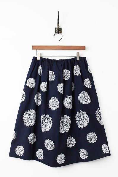 us5976 forest dot 刺繍スカート
