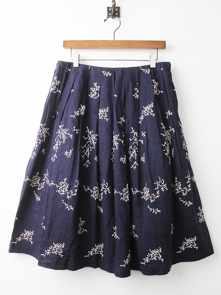 vs5018 senko-hanabi 刺繍 フレアスカート