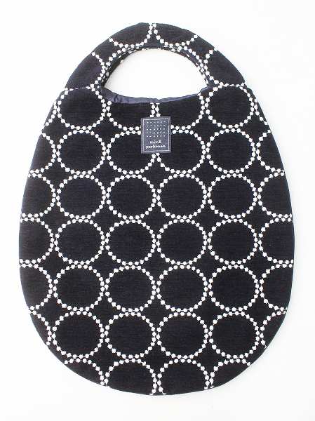 tambourine 刺繍 ベロア エッグバッグ