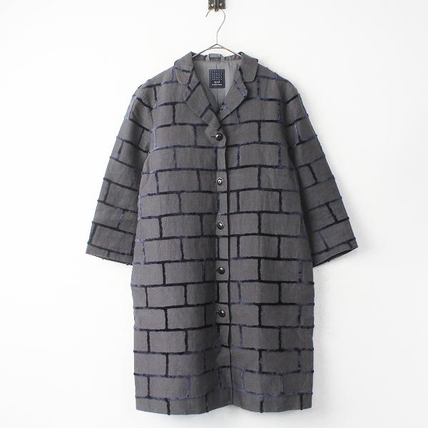 brick リネン ロング コート