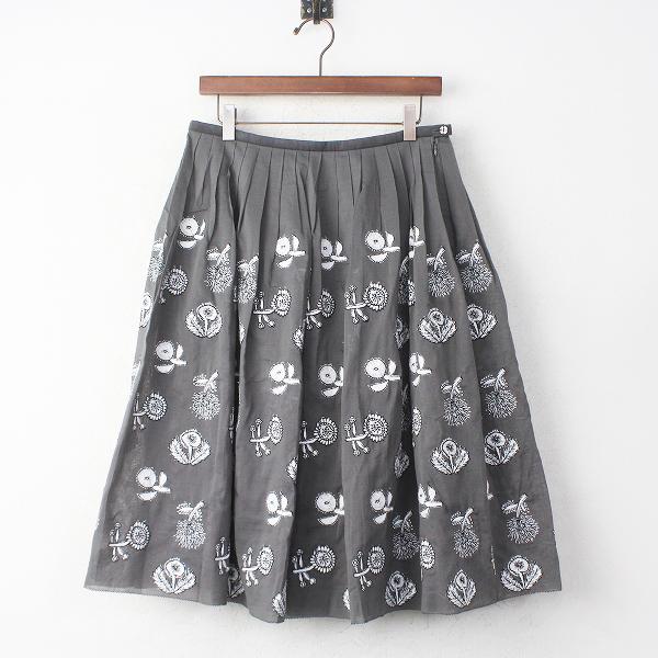 quartet 刺繍 スカート
