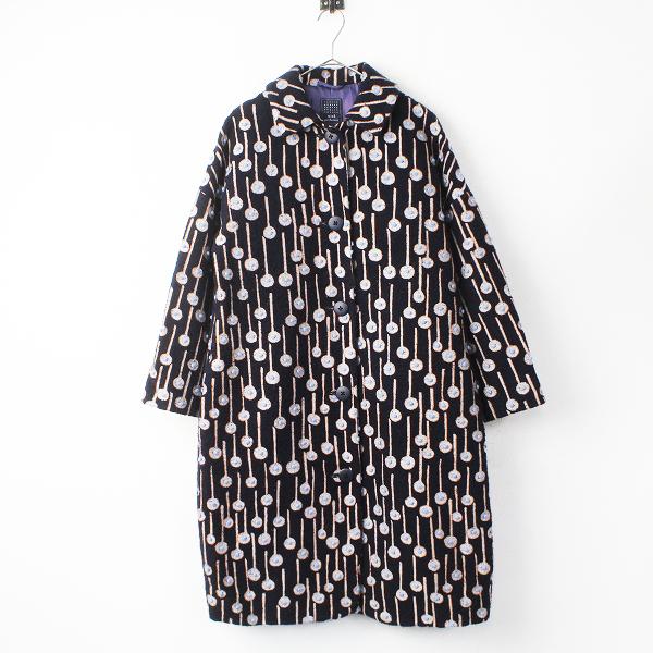 pop rain ウール ロング コート