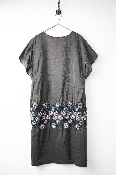 wa3529 rosy 刺繍 ドレス