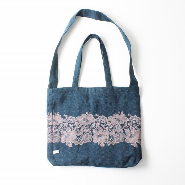 2020SS mina perhonen ミナペルホネン holiday bag -smile flower- 刺繍 バッグ