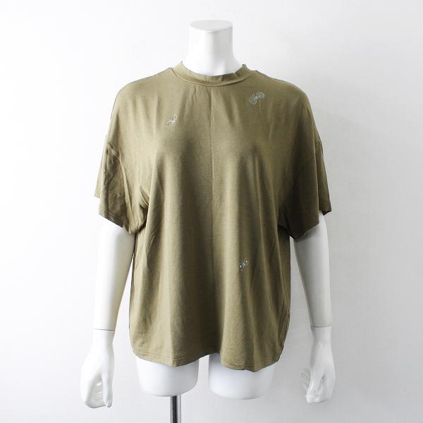 2019SS mina perhonen ミナペルホネン choucho 刺繍 Tシャツ